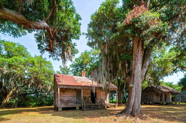 Evergreen Plantation Poster featuring the photograph Slave Quarters 2 by Steve Harrington
