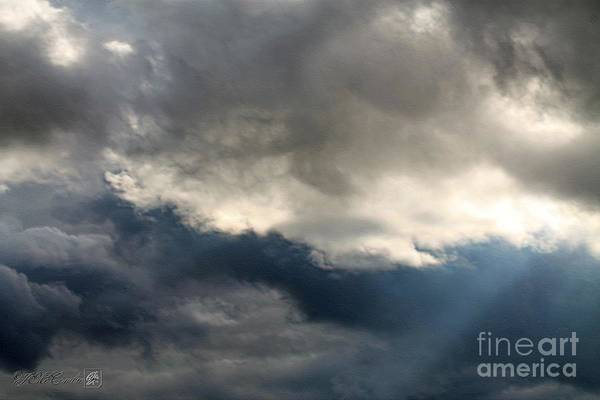Storm Clouds Poster featuring the photograph Storm Clouds by J McCombie