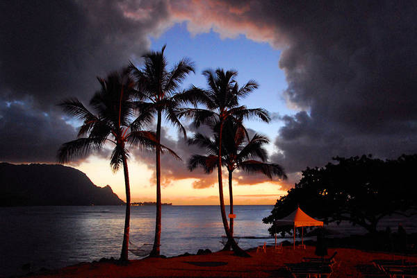 Kauai Poster featuring the photograph The Center Of The Storm by Lynn Bauer