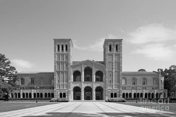Aau Poster featuring the photograph University Of California Los Angeles Royce Hall by University Icons