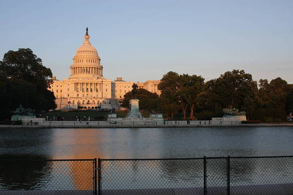America Poster featuring the photograph Washington Dc - Us Capitol - 011312 by DC Photographer