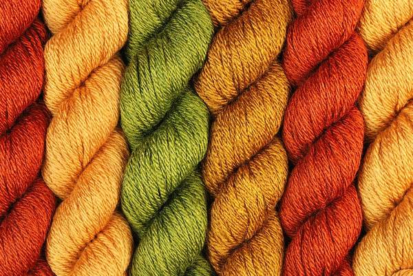 Rust Poster featuring the photograph Yarn With A Twist by Jim Hughes