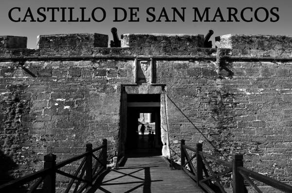 Fine Art Photography Poster featuring the photograph Castillo De San Marcos by David Lee Thompson