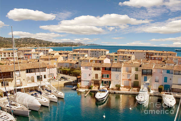 Port Grimaud Poster featuring the photograph Port Grimaud 1 by John James