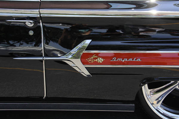 Transportation Poster featuring the photograph 1960 Chevy Impala by Mike McGlothlen