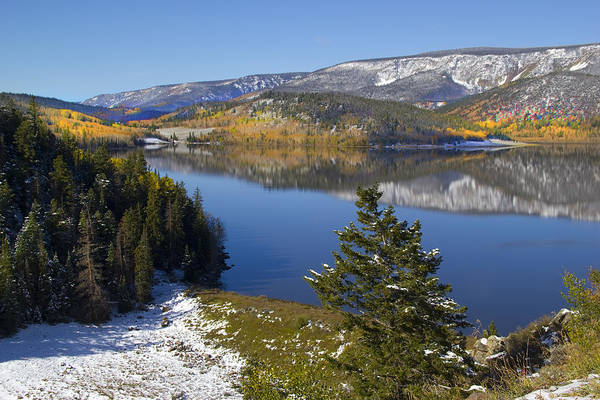 Autumn Photographs Poster featuring the photograph Rocky Mountain Fall by Mark Smith