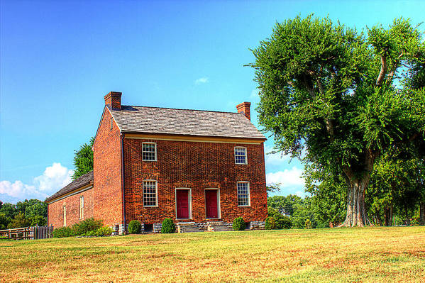 Historical Home Poster featuring the photograph Bowen Plantation House 002 by Barry Jones
