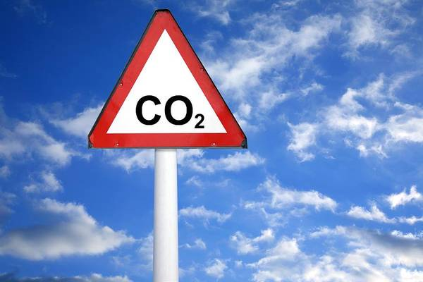 Carbon Dioxide Poster featuring the photograph Carbon Dioxide And Global Warming by Victor De Schwanberg