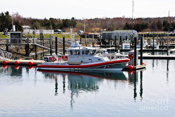 Cape Cod Poster featuring the photograph Coast Guard by Extrospection Art