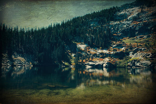 Upper Angora Lake Poster featuring the photograph Dreams That Die by Laurie Search