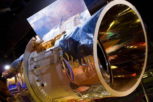 Aperture Poster featuring the photograph Iras Infrared Astronomy Satellite by Mark Williamson