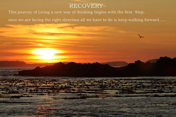 Spiritual Hope And Direction Poster featuring the photograph Spiritual Recovery by Garry Otto