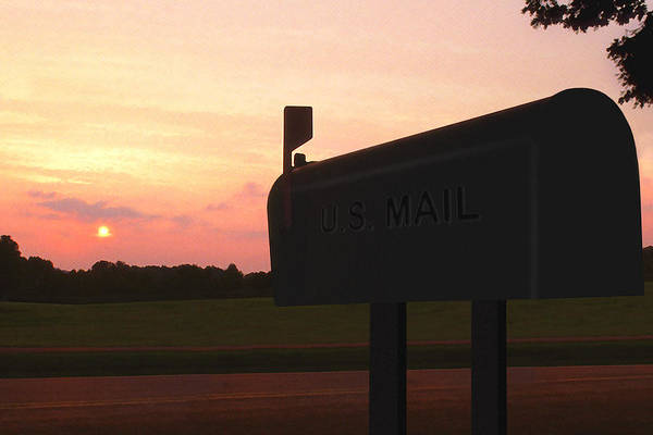 The Mail Of Old Poster featuring the photograph The Mail Of Old by Mike McGlothlen