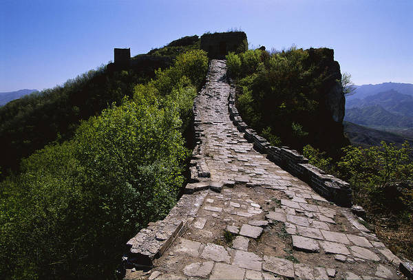 Outdoors Poster featuring the photograph The Simatai Section Of The Great Wall by Raymond Gehman