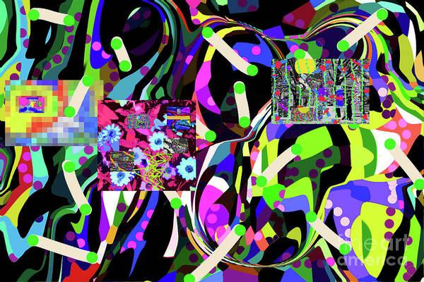 Walter Paul Bebirian Poster featuring the digital art 3-16-2015habcdefghijkl by Walter Paul Bebirian