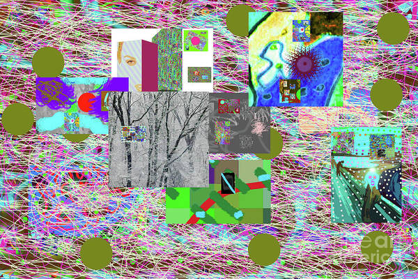 Walter Paul Bebirian Poster featuring the digital art 5-14-2015cabcdefghijklm by Walter Paul Bebirian