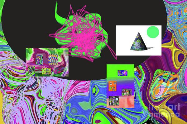 Walter Paul Bebirian Poster featuring the digital art 7-20-2015gabcdefghijklmnopqrtuvw by Walter Paul Bebirian