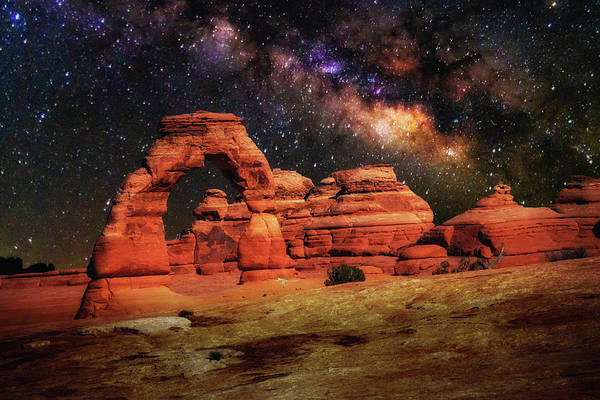 Delicate Arch Poster featuring the photograph Arches National Park 44 by Mike Penney