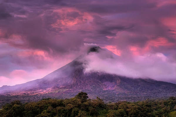 Arenal Volcano Poster featuring the photograph Arenal Volcano by Dolly Sanchez