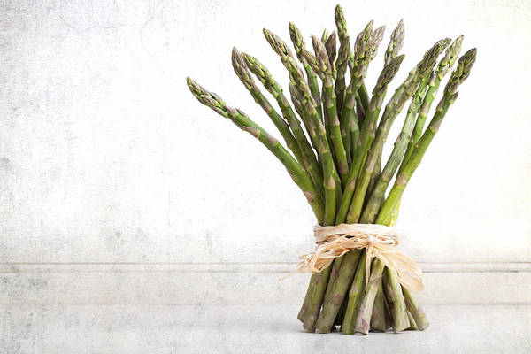 Aged Poster featuring the photograph Asparagus Vintage by Jane Rix