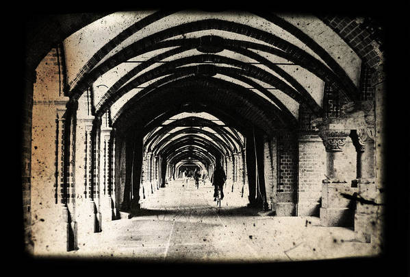 Alter Poster featuring the photograph Berlin Arches by Andrew Paranavitana