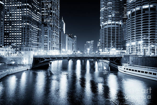 America Poster featuring the photograph Chicago River At State Street Bridge by Paul Velgos