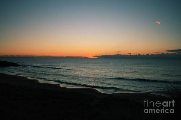 Constantine Bay Poster featuring the photograph Constantine Sunset by Carl Whitfield