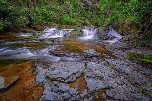 Dingman's Falls Poster featuring the photograph Dingmans Creek II by Rick Berk