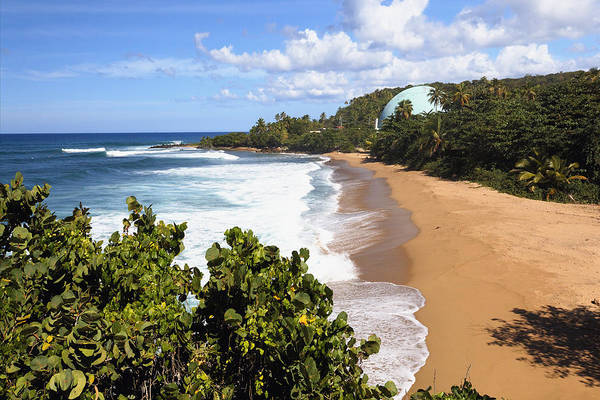 Architecture Poster featuring the photograph Domes Beach Rincon Puerto Rico by George Oze