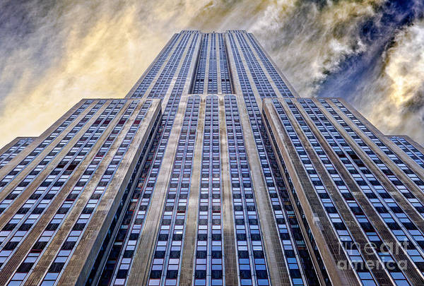 Empire State Building Poster featuring the photograph Empire State Building by John Farnan