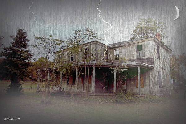2d Poster featuring the photograph Frightening Lightning by Brian Wallace