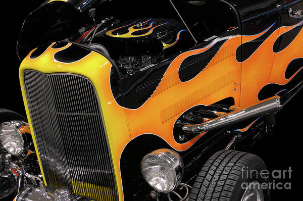 Hot Rod Poster featuring the photograph Hot Rod by Oleksiy Maksymenko