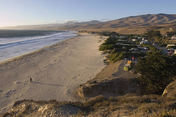 Beaches Poster featuring the photograph Jalama Campground And Beach. Pacific by Rich Reid
