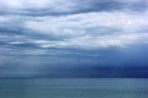 Lake Huron Poster featuring the photograph Lake Huron Colors 5 by Mary Bedy