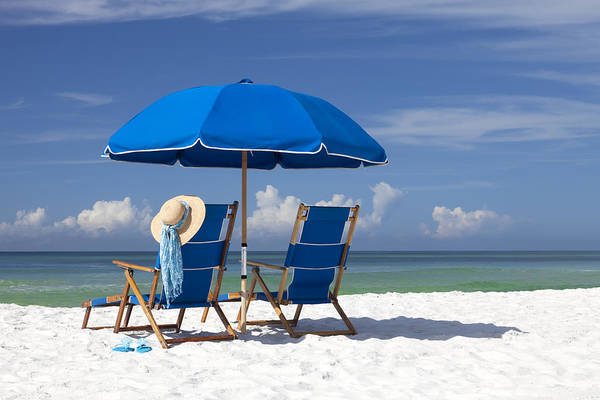 Destin Poster featuring the photograph No Worries by Janet Fikar