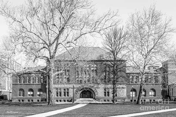 Ohio State University Poster featuring the photograph Ohio State University Hayes Hall by University Icons