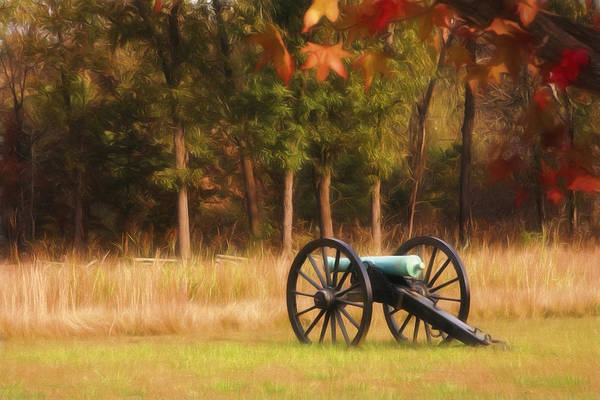 American Poster featuring the photograph Pea Ridge by Lana Trussell
