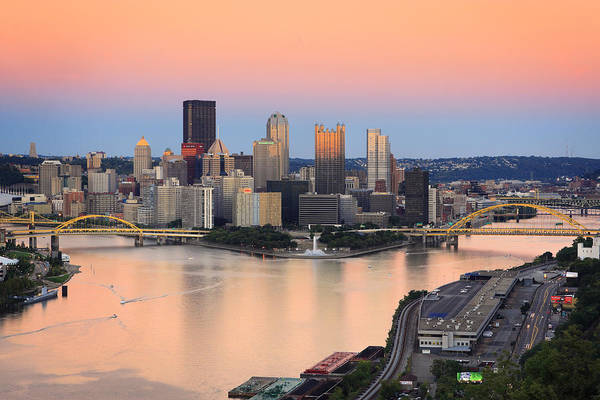 Steelers Poster featuring the photograph Pittsburgh 16 by Emmanuel Panagiotakis