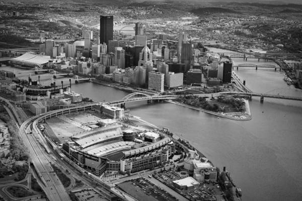 Steelers Poster featuring the photograph Pittsburgh 9 by Emmanuel Panagiotakis