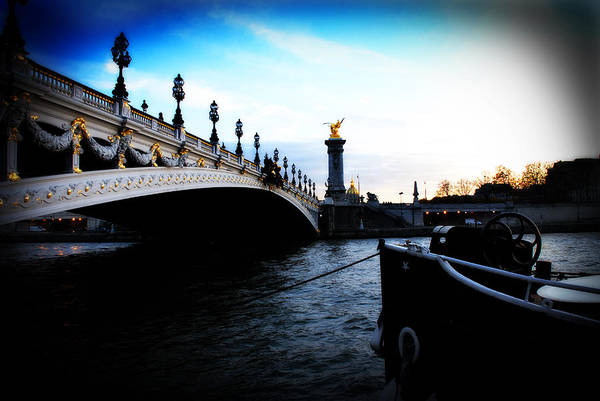 Paris Poster featuring the photograph Pont Alexandre by Cabral Stock