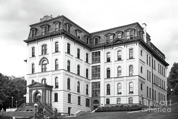 New York Poster featuring the photograph Rensselaer Polytechnic Institute West Hall by University Icons