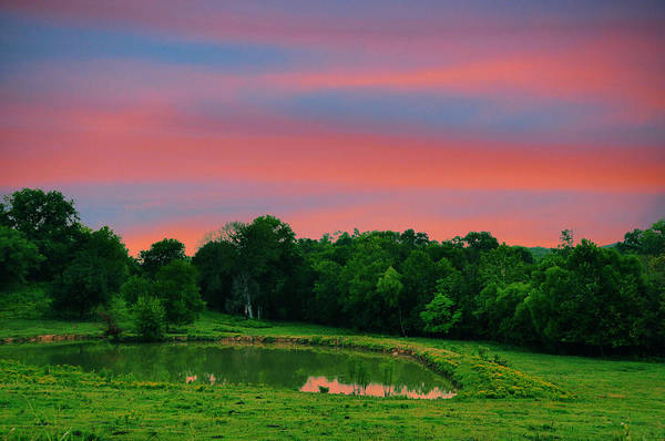 Landscapes Poster featuring the photograph Restful Afternoon by Jan Amiss Photography