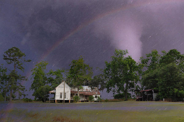 Landscapes Poster featuring the photograph Somewhere Over The Rainbow by Jan Amiss Photography