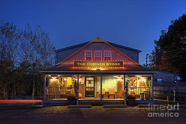 Hdr Poster featuring the photograph The Corner Store by John Greim