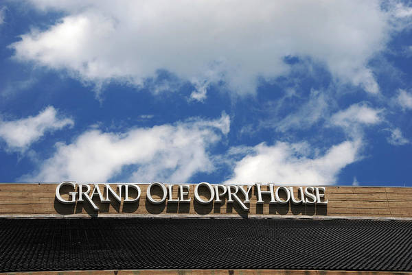 Grand Ole Opry House Poster featuring the photograph The Grand Ole Opry Nashville Tn by Susanne Van Hulst
