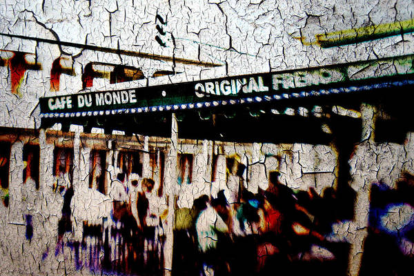 Cafe Du Monde Poster featuring the photograph The Market by Scott Pellegrin