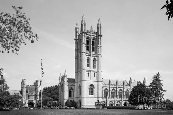 Downes Memorial Poster featuring the photograph Trinity College Chapel by University Icons