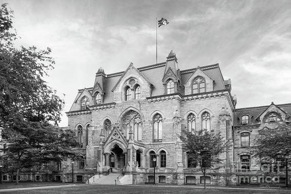 Aau Poster featuring the photograph University Of Pennsylvania College Hall by University Icons