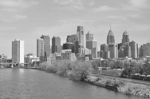 Philly Poster featuring the photograph View From The New S.st. Bridge by Brynn Ditsche