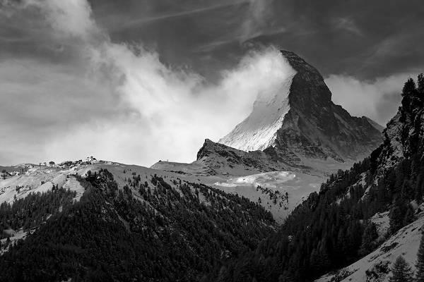 Matterhorn Poster featuring the photograph Wonder Of The Alps by Neil Shapiro